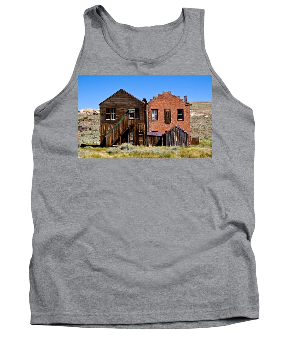 Bodie Siblings Tank Top featuring the photograph Bodie Siblings by Chris Brannen
