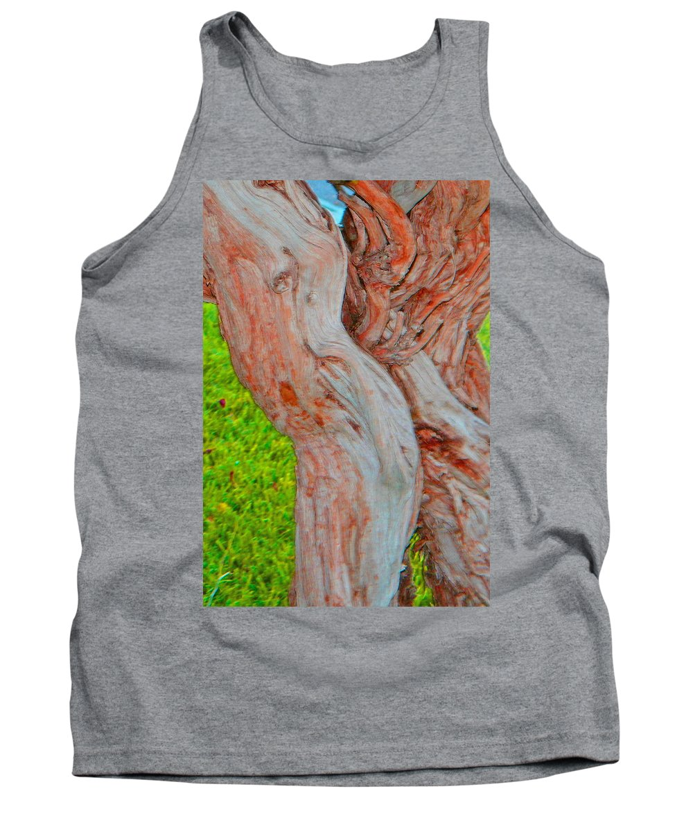 Abstract Tank Top featuring the photograph Bodies And Muscles by Lenore Senior