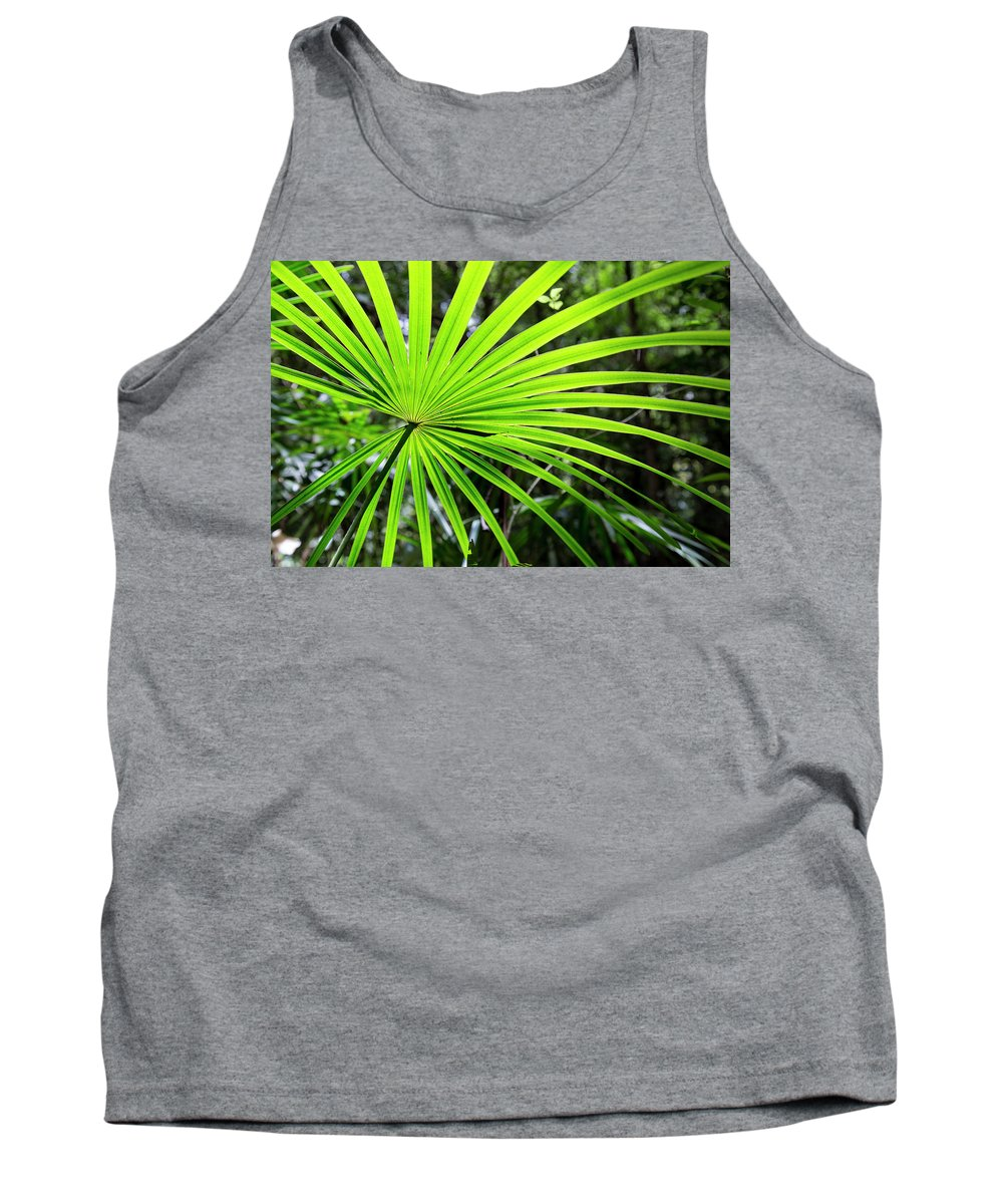 Australia Tank Top featuring the photograph Bold Fronds 3 by Stuart Mackenzie