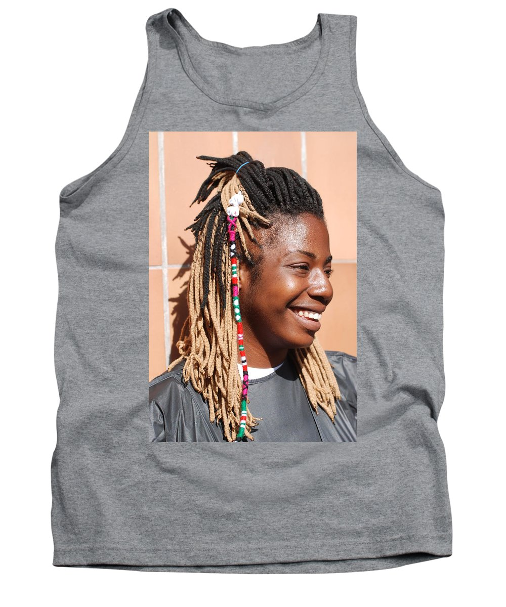 People Tank Top featuring the photograph Braided Lady by Rob Hans