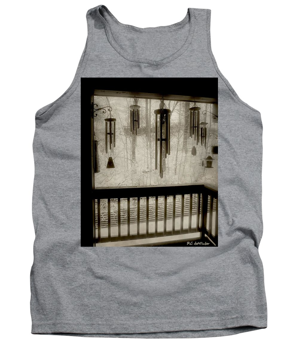 Balcony Tank Top featuring the photograph Breathe Deep The Gathering Gloom by RC DeWinter