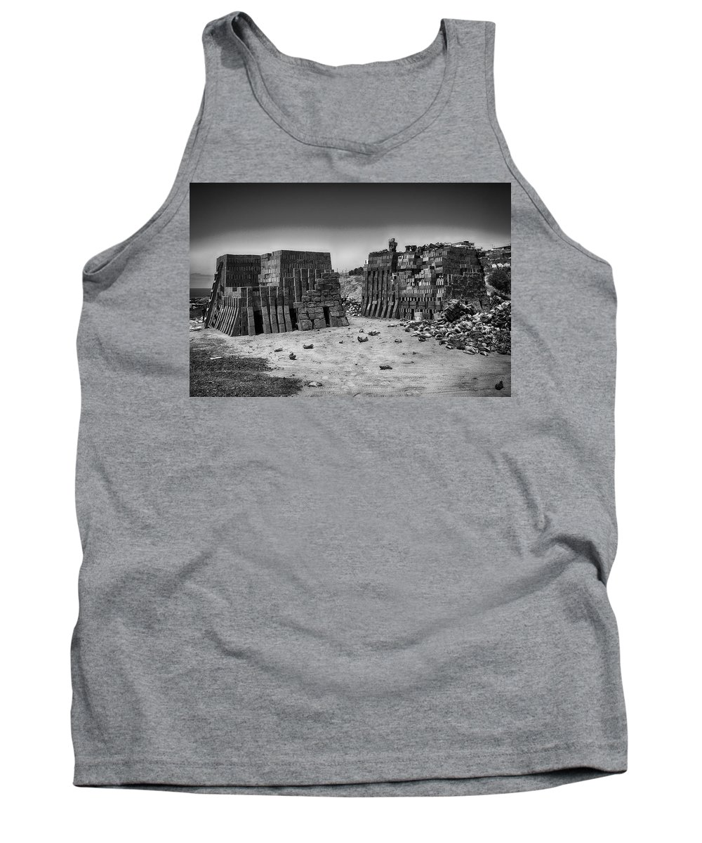 Bricks Tank Top featuring the photograph Brick Ovens by Hugh Smith
