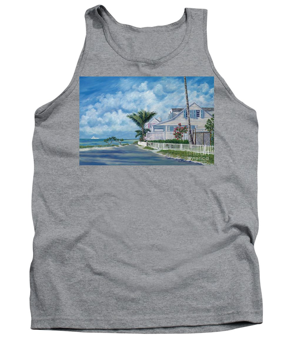 Harbor Island Tank Top featuring the painting Briland Breeze by Danielle Perry