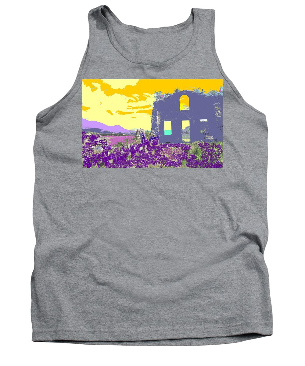 Brimstone Tank Top featuring the photograph Brimstone Sunset by Ian MacDonald