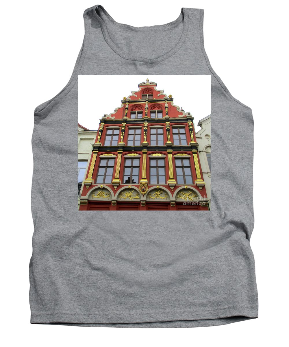 Bruges Tank Top featuring the photograph Bruges 36 by Randall Weidner