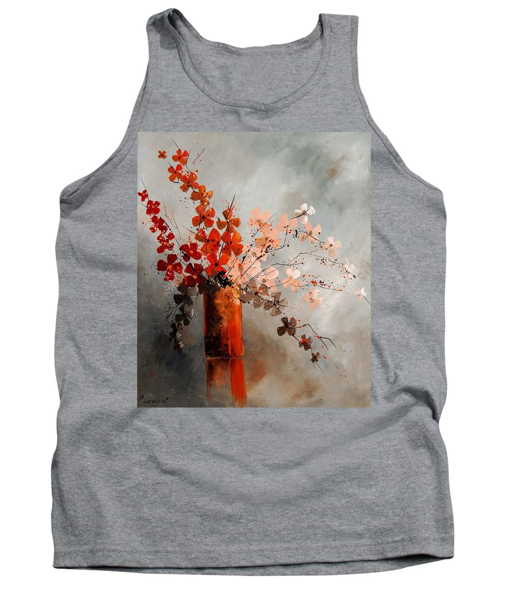 Flowers Tank Top featuring the painting Bunch 670908 by Pol Ledent