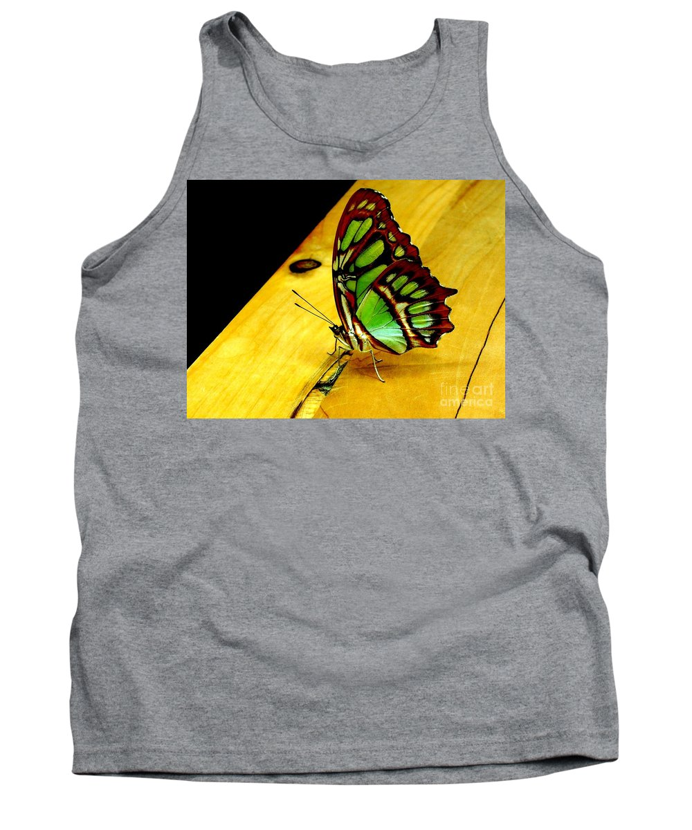Butterfly Tank Top featuring the photograph Butterfly by Michael Grubb