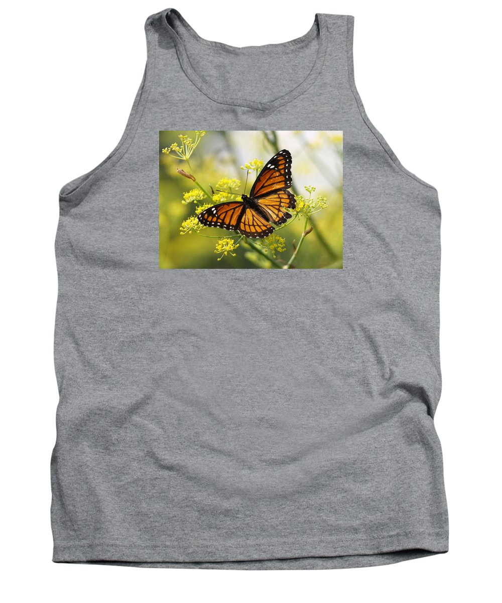 Ann Keisling Tank Top featuring the photograph Butterfly Wings by Ann Keisling