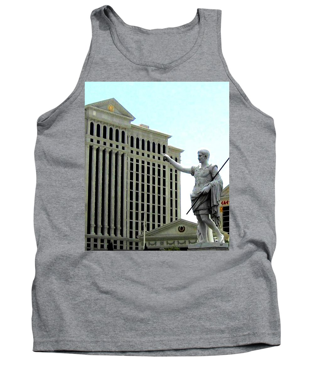 Caesars Palace Tank Top featuring the photograph Caesars Palace by Will Borden