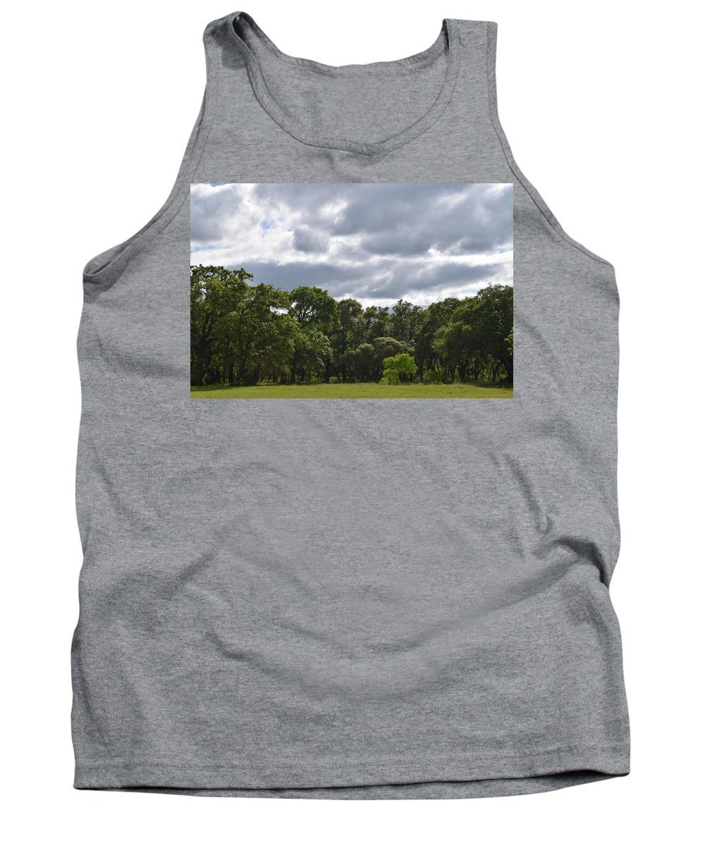 Sky Tank Top featuring the photograph Calm by Tyeshia Barnes