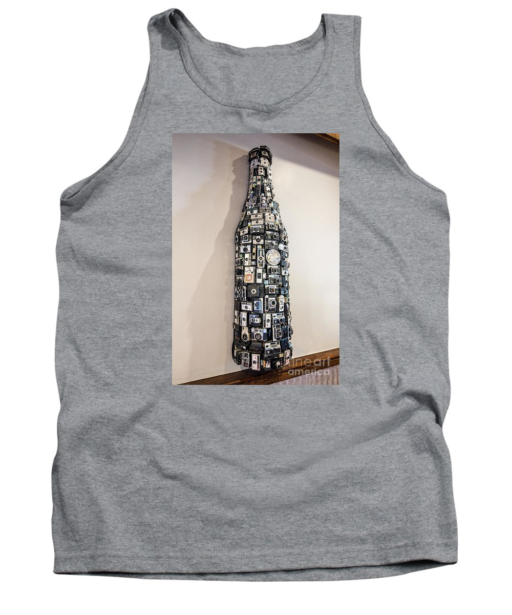 New Belgium Brewery Tank Top featuring the photograph Camera Art by Keith Ducker