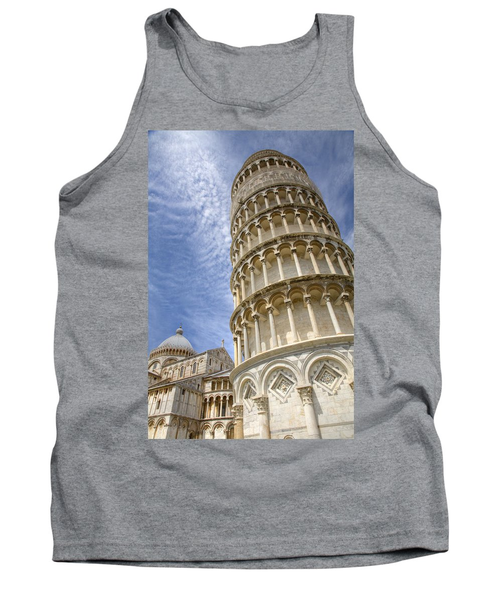 Italian Tank Top featuring the photograph Campo Di Miracoli by Ian Middleton