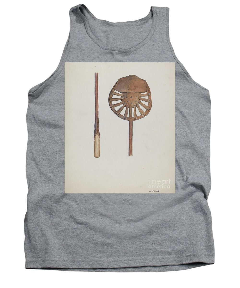 Tank Top featuring the drawing Candle Maker by William Hoffman