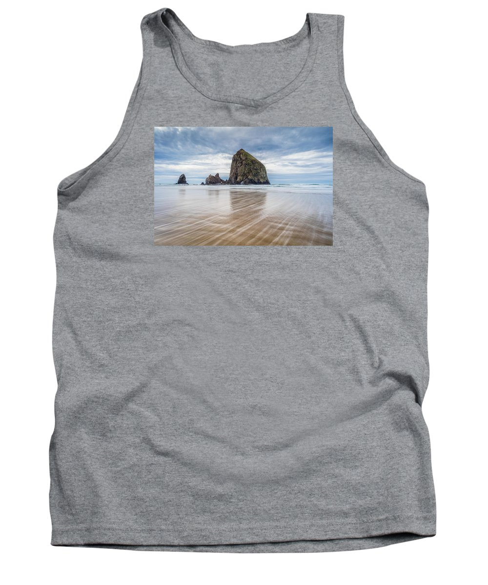 Oregon Tank Top featuring the photograph Cannon Beach, Oregon by Michael Holly