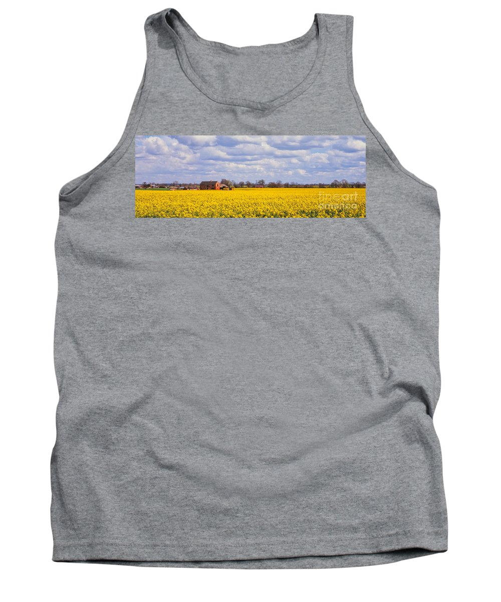 Canola Tank Top featuring the photograph Canola Field by John Edwards