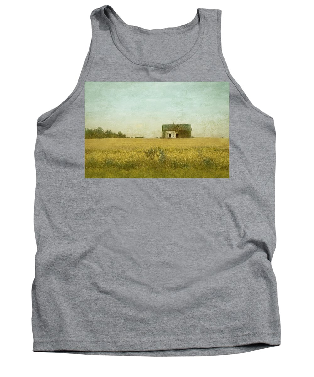 Canola Tank Top featuring the photograph Canola Field Of Dreams by Cindy Baillie