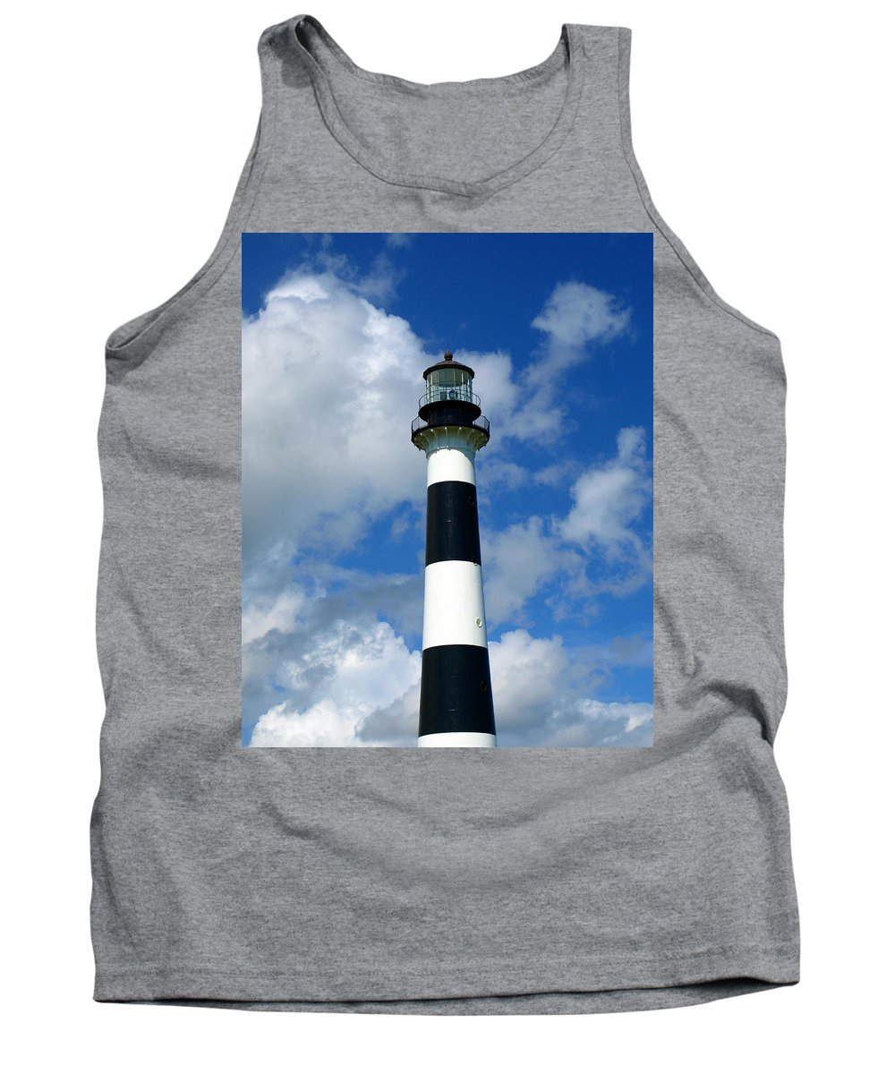 Tank Top featuring the photograph Canveral Light by Allan Hughes