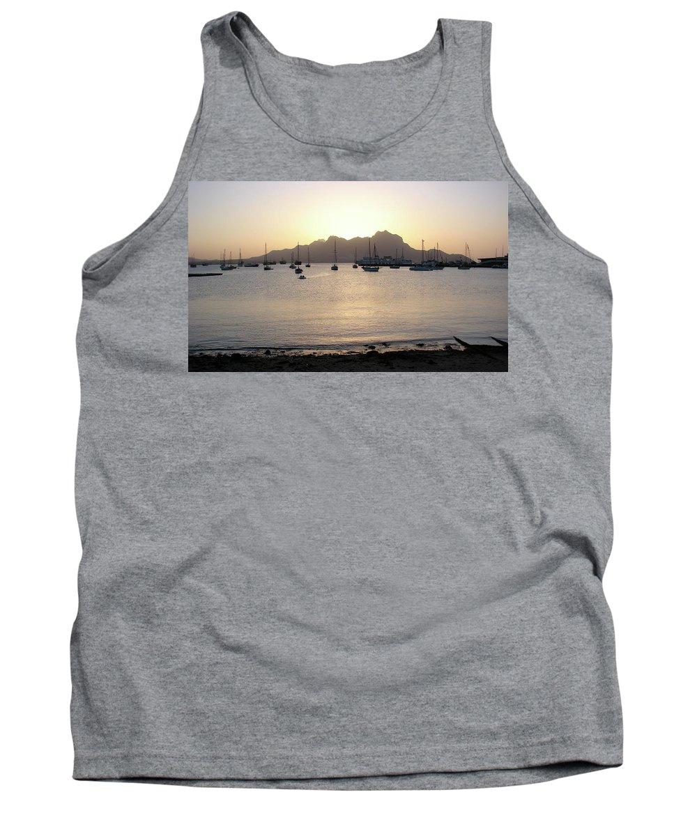 Cape Verde Tank Top featuring the photograph Cape Verde Sunset by Brett Winn