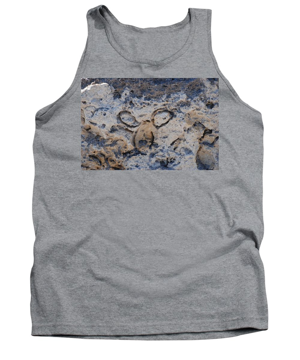 Ocean Tank Top featuring the photograph Carved Catface by Rob Hans
