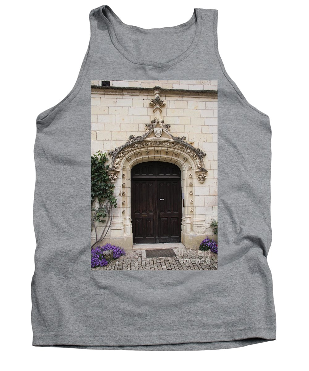 Door Tank Top featuring the photograph Castle Entrance Door by Christiane Schulze Art And Photography