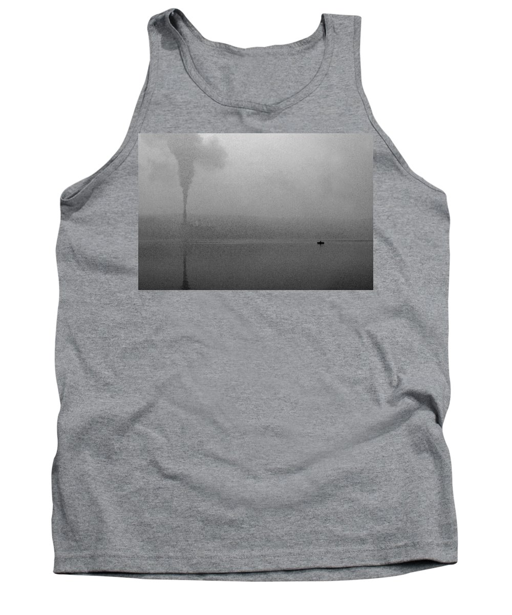 Solitude Tank Top featuring the photograph Cayuga Solitude by Jean Macaluso
