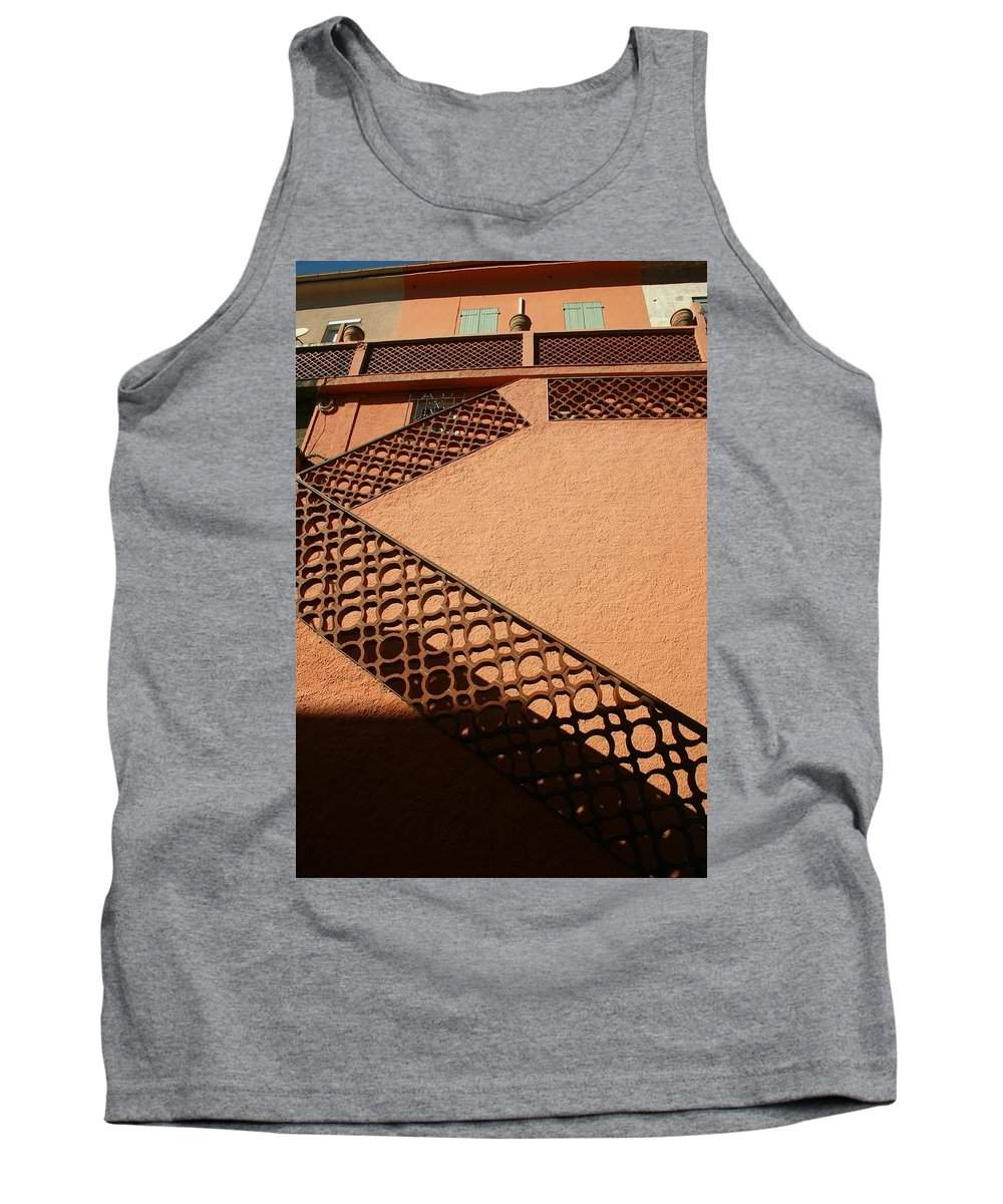 Stairs Tank Top featuring the photograph Cerbre France Stairs by Minaz Jantz