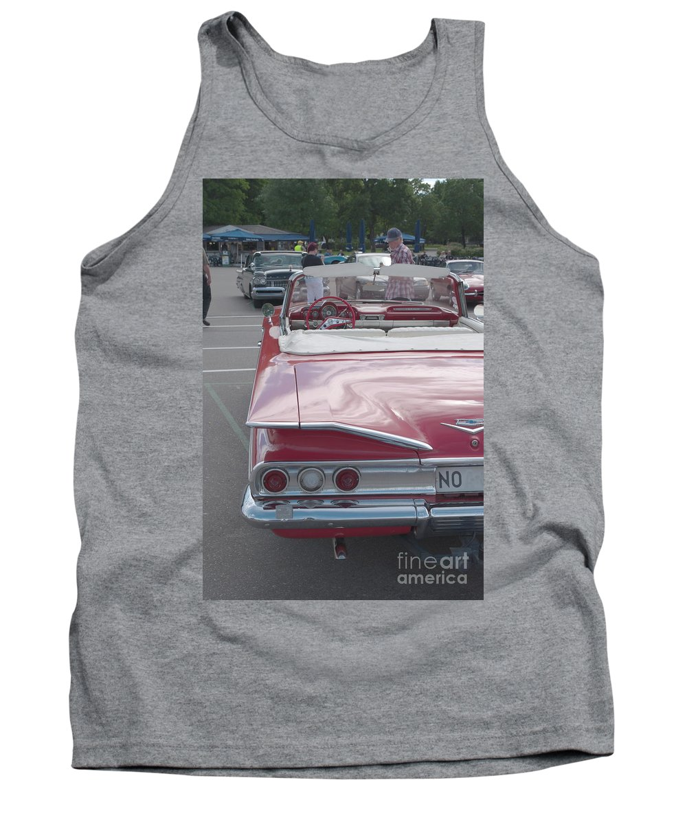 Chevrolet Impala Tank Top featuring the photograph Chevrolet Impala by Esko Lindell
