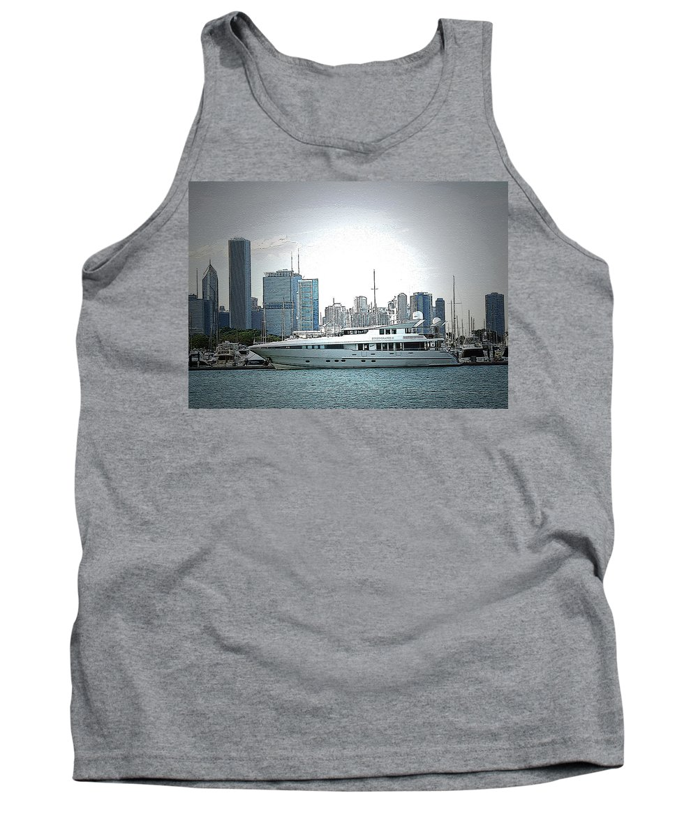 Yacht Tank Top featuring the photograph Chiscape by Vm Vassolo