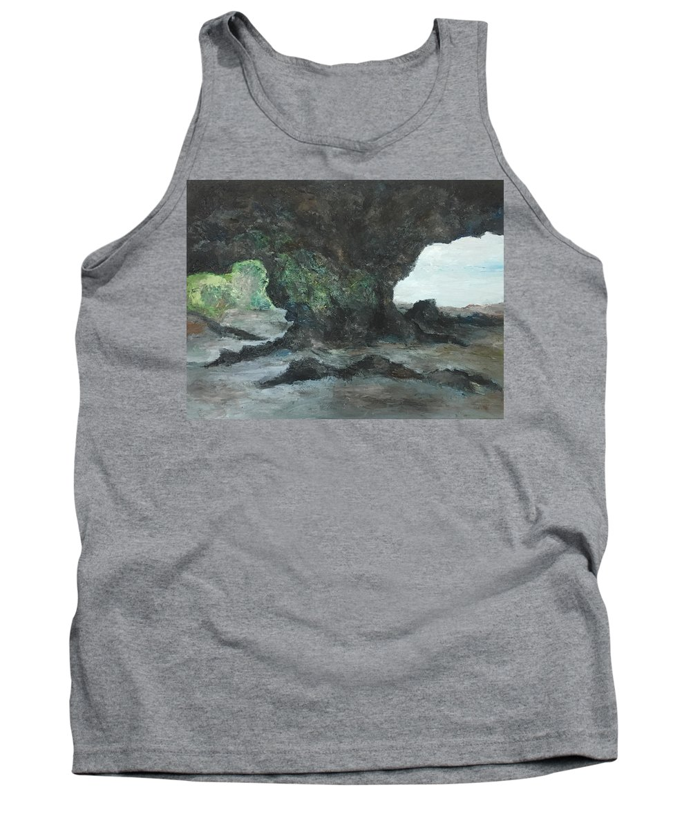 Scenes Tank Top featuring the painting Choices by Yong Chee lik