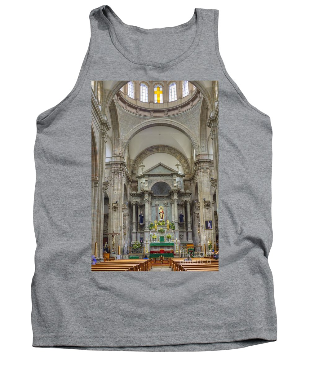 Decoration Tank Top featuring the photograph Church In Guanajuato by Juli Scalzi