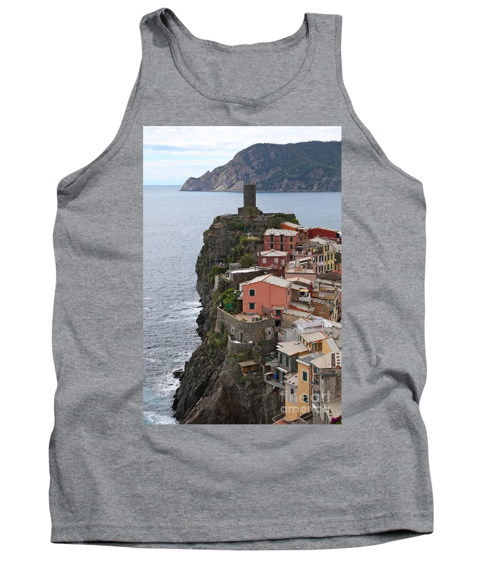 Italy Tank Top featuring the photograph Cinque Terre by Nadine Rippelmeyer