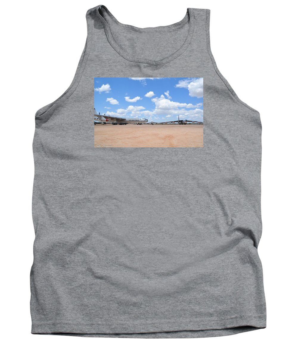Convair Tank Top featuring the photograph Classic Bombers by Matt Abrams