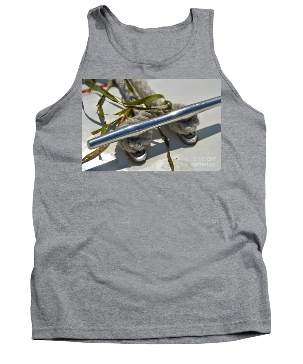 Cleat Tank Top featuring the photograph Cleat 3 by Jan Prewett