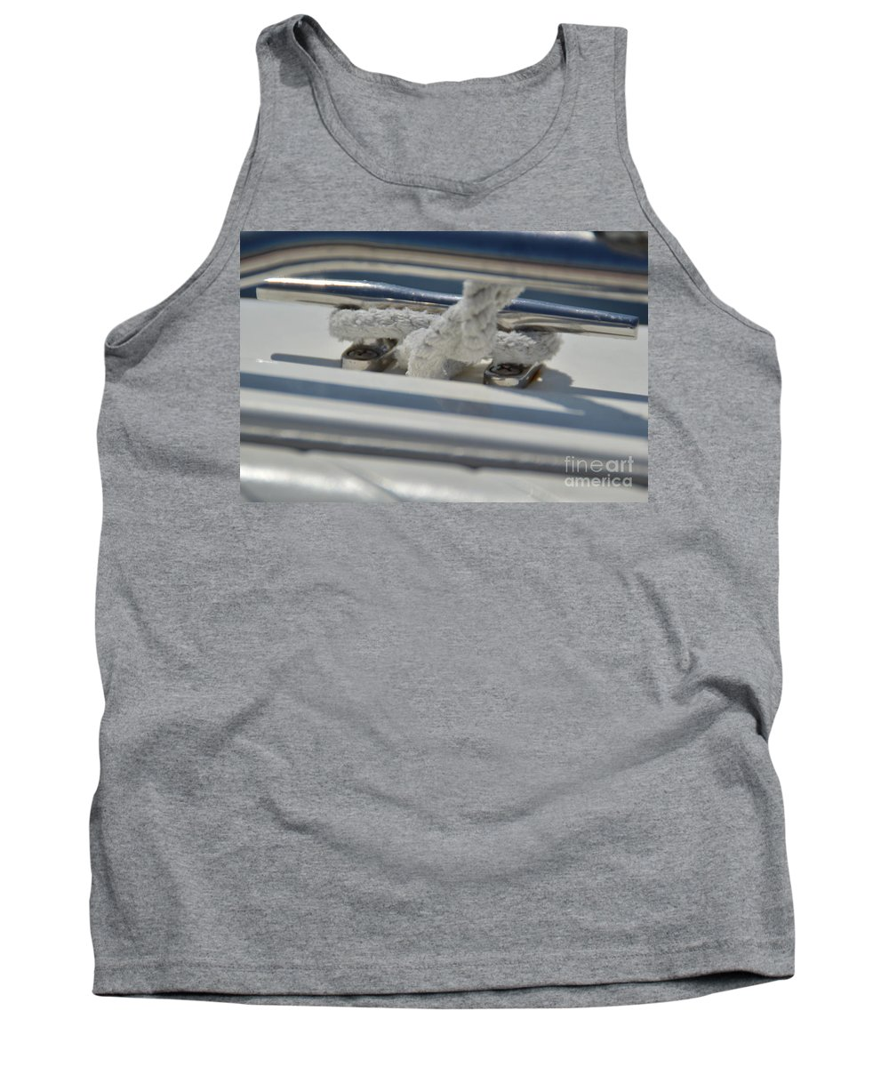 Cleat Tank Top featuring the photograph Cleat by Jan Prewett
