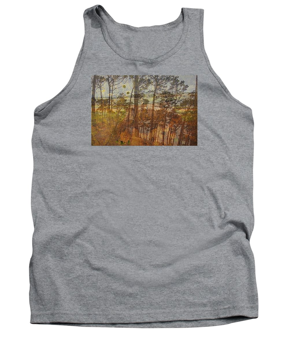 Double Tank Top featuring the photograph Cliff Dwellers by Nancy Marie Ricketts