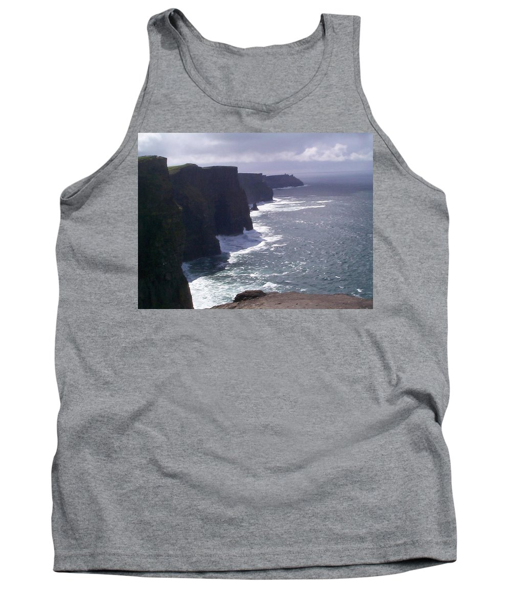 Ireland Tank Top featuring the photograph Cliffs Of Moher by Charles Kraus