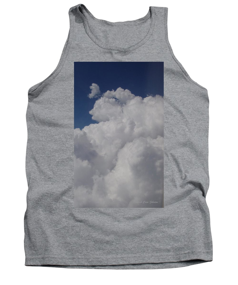 Clouds Tank Top featuring the photograph Cloud Depth I by Deborah Crew-Johnson