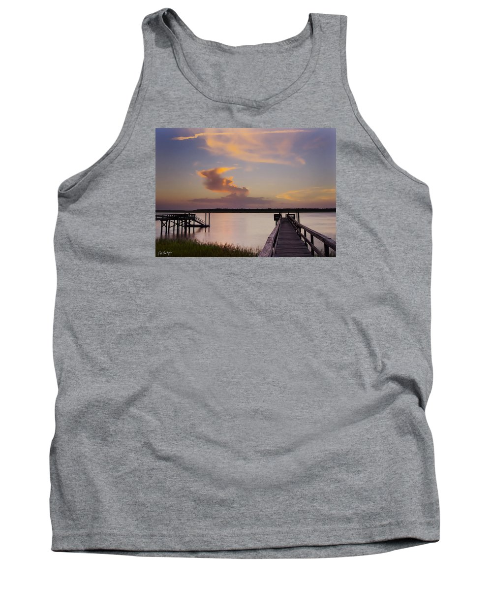 South Carolina Tank Top featuring the photograph Cloud Forms by Phill Doherty