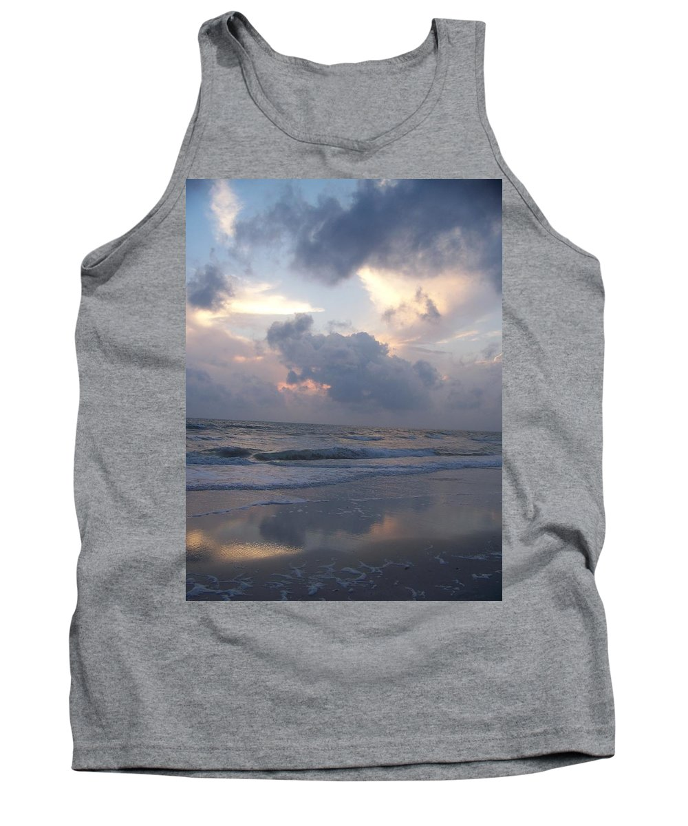 Rain Tank Top featuring the photograph Cloudy Day In Naples by Laurie Paci