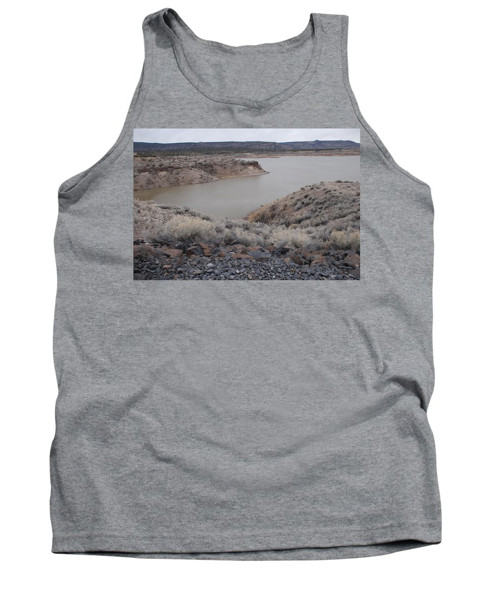 Mountians Tank Top featuring the photograph Cochiti Lake by Rob Hans