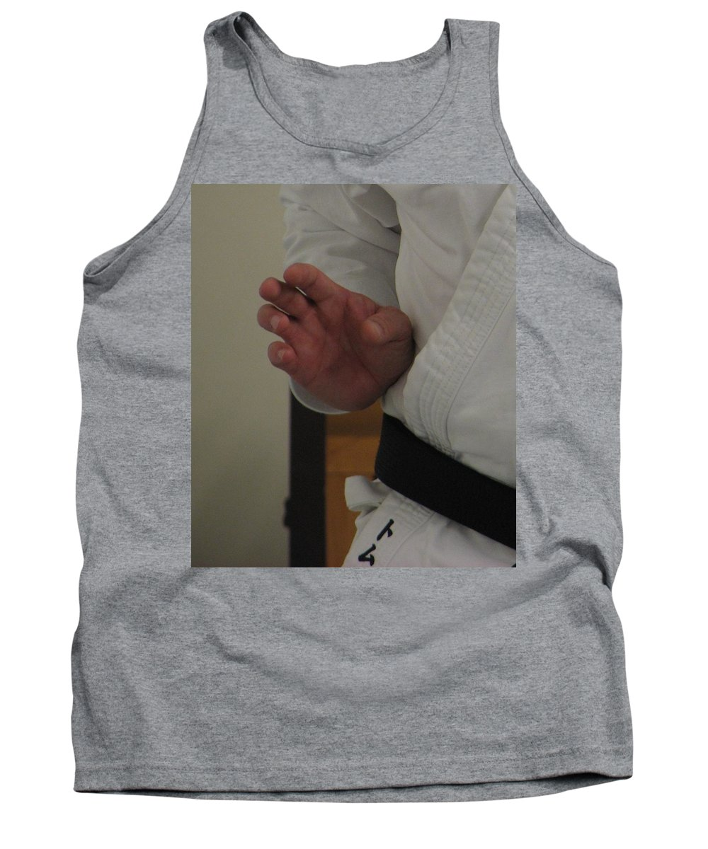 Karate Tank Top featuring the photograph Coiled by Kelly Mezzapelle