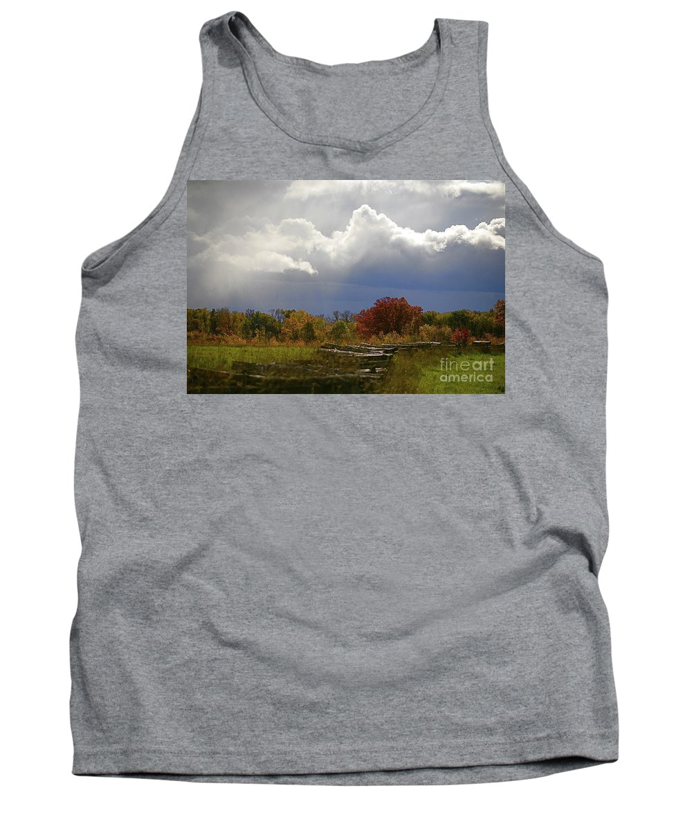 Landscape Tank Top featuring the photograph Cold Front by Robert Pearson