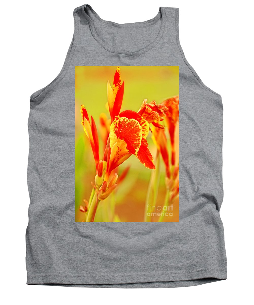 Botanical Tank Top featuring the photograph Colorful by Charuhas Images