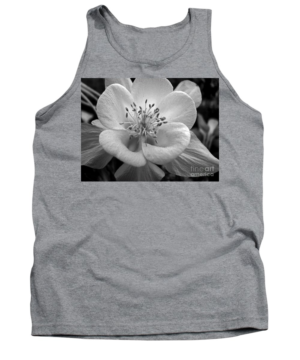 Flowers Tank Top featuring the photograph Columbine by Amanda Barcon