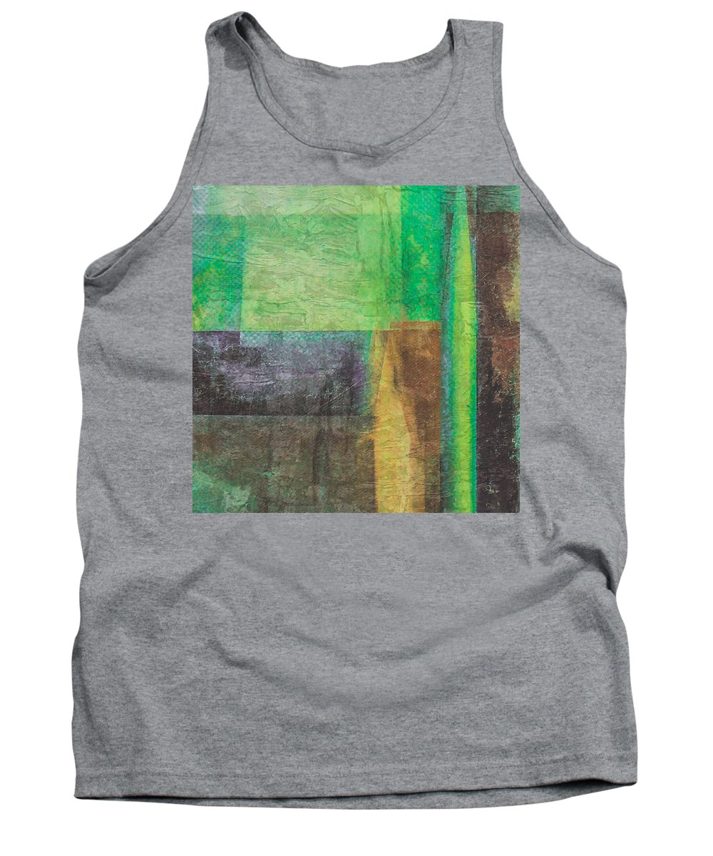Abstract Tank Top featuring the digital art Community by Fernwood Grove