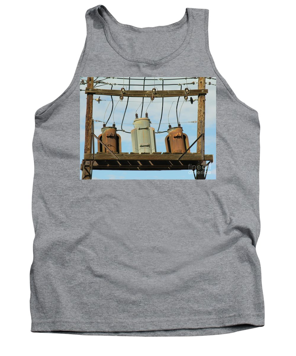 Rusted Tank Top featuring the photograph Company by Diane Greco-Lesser