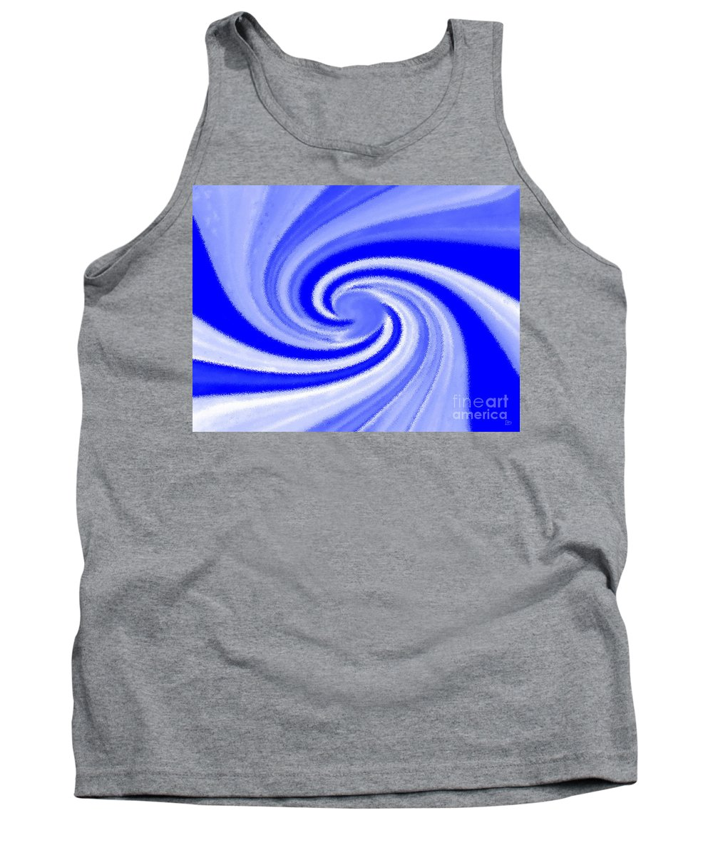 Contrail Tank Top featuring the digital art Contrail by David Lee Thompson