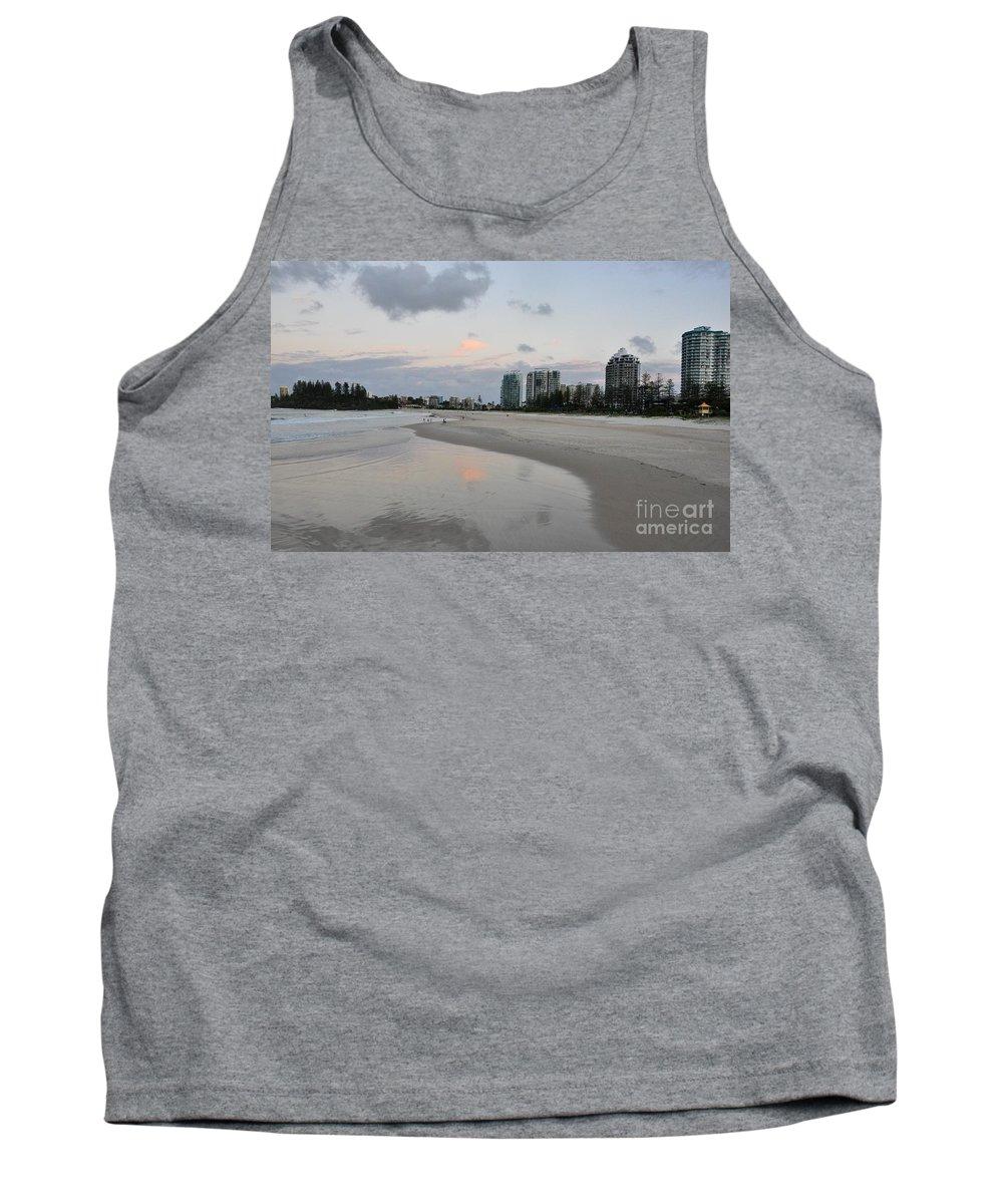 Gold Coast Tank Top featuring the photograph Coolangatta Reflections by Csilla Florida