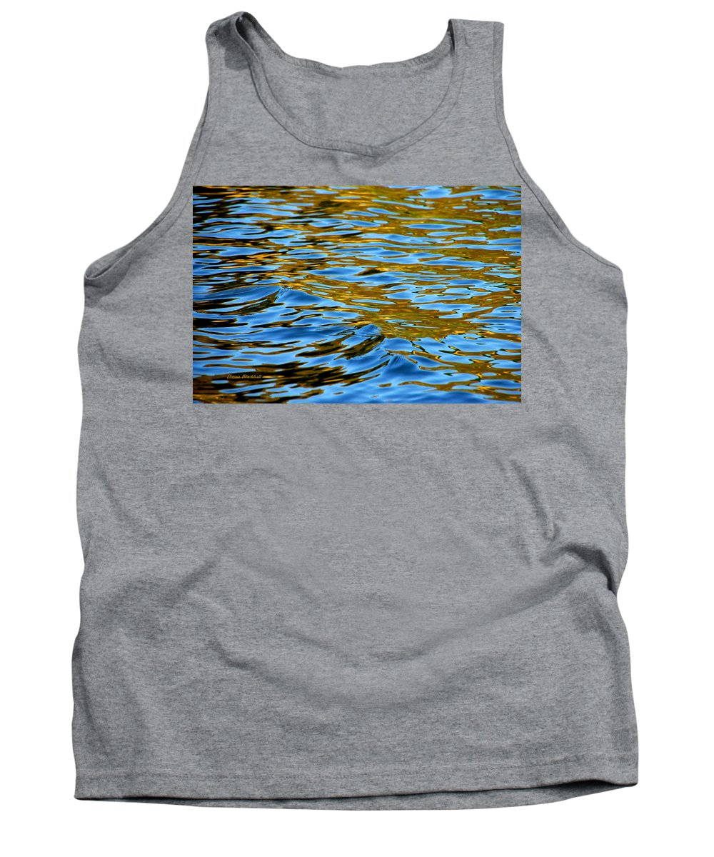 Water Tank Top featuring the photograph Copper Melody by Donna Blackhall