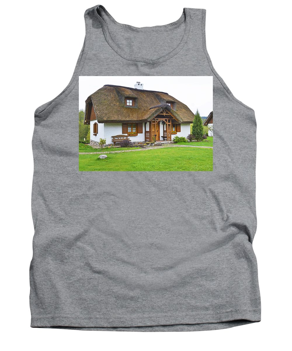 Cottage Tank Top featuring the photograph Cottage. by Adriano Bussi